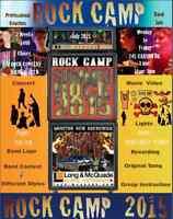 ROCK CAMP / ROCK SKOOL  /  MUSICAL THEATRE