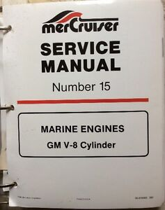 MERCRUISER MANUAL GM V-8 NO. 15