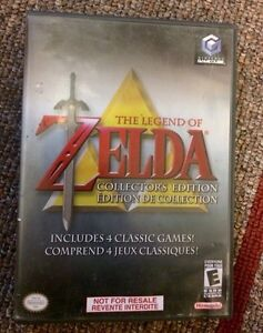 The legend of Zelda collectors edition - 4 games