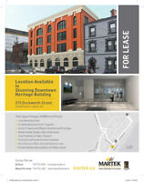 Stunning Downtown Heritage Building - Ready for Business