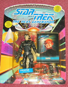 Star Trek: The Next Generation - Locutus figure NEW in package Cambridge Kitchener Area image 1