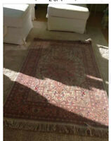 a persian rug located in west vancouver