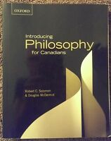 Introducing Philosophy for Canadians textbook