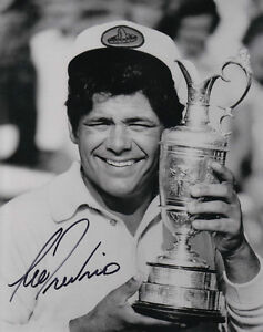 LEE TREVINO Signed Vintage 8x10 British Open Golf Photo with COA