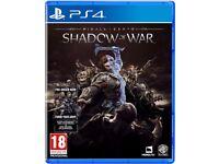Shadow of War Ps4 SWAP for AC:Origins