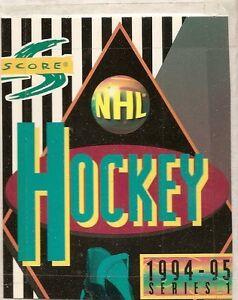 1994-95 Score Hockey Set ($12. Beckett value)