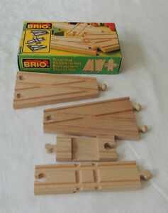 Brio Switching & Crossing Tracks (Vintage Sweden) Original box