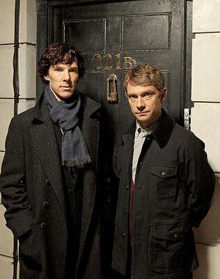 Benedict Cumberbatch and Martin Freeman  10x 8 UNSIGNED photo - P733 - Sherlock