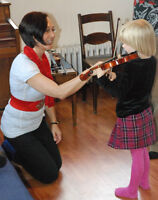 Violin Lessons in Uptown Waterloo