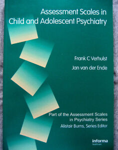 Assessment Scales in Child and Adolescent Psychiatry (medicine) London Ontario image 1