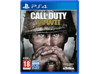 Call of Duty World War 2 WW II PS4 in box excellent condition