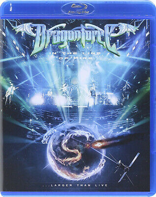 Dragonforce - In The Line Of Fire - Larger Than Live POWER METAL BLU-RAY -