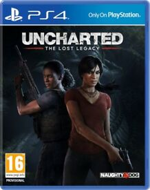 Uncharted The Lost Legacy PS4 MINT
