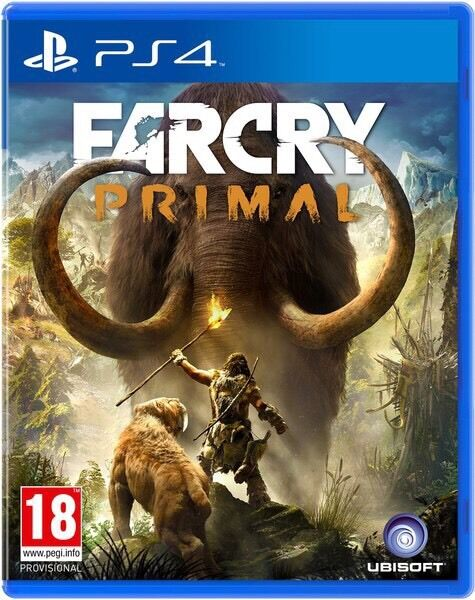 Far Cry Primal PS4 Seal Opened Like New