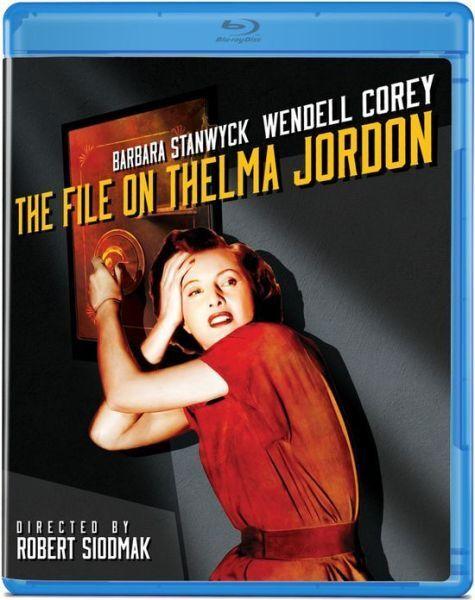 File on Thelma Jordan (Robert Axelrod) Region A BLURAY - Sealed