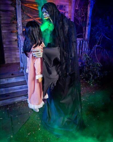 6.3 Ft Harvester of Souls Animatronic Spirit Halloween & Sold Out