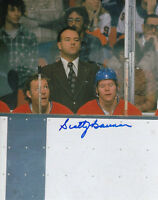 SCOTTY BOWMAN Signed Montreal Canadiens Vintage Hockey Photo COA