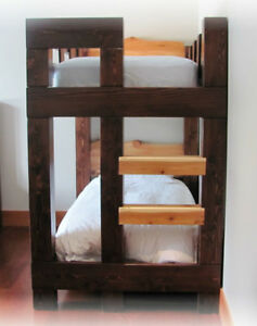 Hand crafted Timber bunk beds in Fanny bay Comox / Courtenay / Cumberland Comox Valley Area image 8