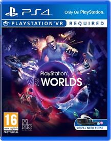 PlayStation Camera and VR Worlds