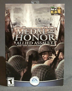 PC Game: MEDAL OF HONOR - ALLIED ASSAULT (Mint)
