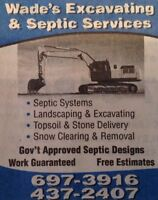 Wade's Excavating & Septic Services Ltd.