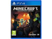 SEALED - Minecraft PlayStation Edition