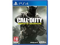 CALL OF DUTY INFINITE WARFARE - PS4 BRAND NEW SEALED