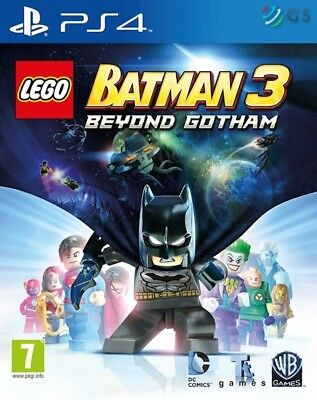 Lego Batman 3 Beyond Gotham PS4 * NEW SEALED PAL * for sale  Shipping to Nigeria