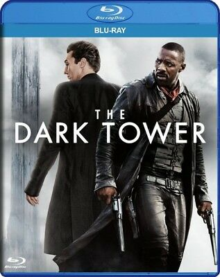 The Dark Tower  Blu Ray  2017  Digital Copy  Idris Elba Matthew Mcconaughey