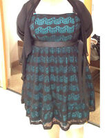 2 robes grandes tailles portées 1 fois - Négociable