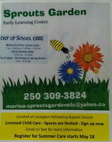 Licensed Out of School Care in Lavington, BC