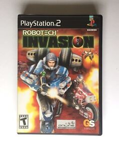 Robotech Invasion PlayStation 2 Game Complete