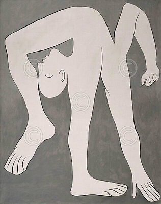 Pablo Picasso L'acrobate The Acrobat Abstract Figurative Arms Print Poster 23x28