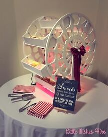 Sweet Cart / Candy Cart / Ferris Wheel Hire - weddings, events, party - Northamptonshire and beyond