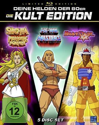 He-Man + She-Ra + BraveStarr - 80er Jahre Kult Zeichentrick Edition - Special Ge
