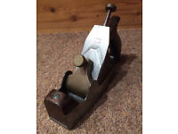 Adjustable Norris A6 smoothing plane. Vintage woodwork tool