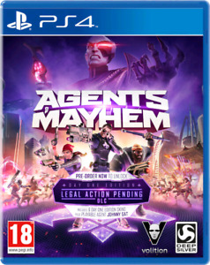 Trading Agents of Mayhem for Dirt 4 or Diablo 3 UEE (for PS4)!!