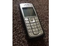 Black & silver Nokia 6230i unlocked MINT!