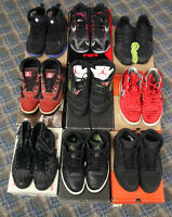 Jordans/Hurraches/Air Force/Lebrons View Ad!!