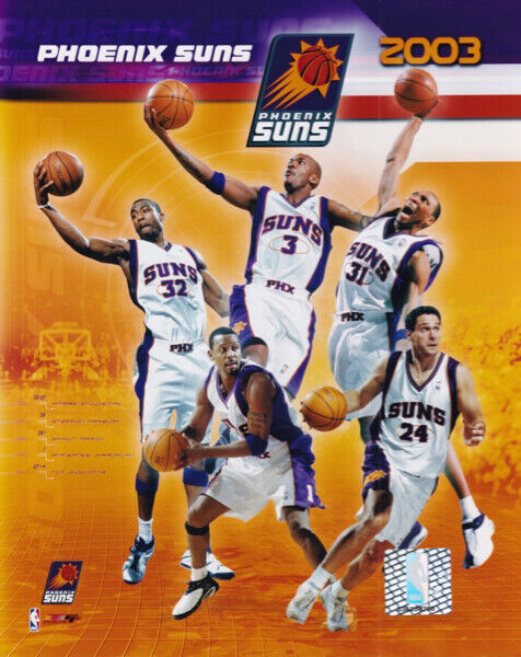 Phoenix Suns 2003 Team Composite Stephon Marbury 8x10 Photo