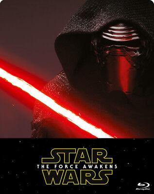 STAR WARS : THE FORCE AWAKENS Steelbook Blu-ray | Brand New & Sealed
