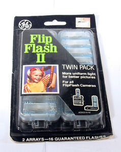 Vintage Flip Flash II (16 Flashes New in Box)