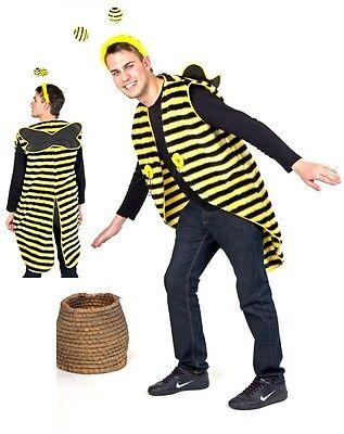Bienenkostüm Frack Biene Imme Drohne Kostüm Bienenfrack Tier Fasching Karneval