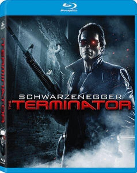 THE TERMINATOR (1984 Remastered Edition)  -  Blu Ray - Sealed & Region free