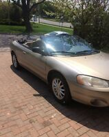 2003 Chrysler Sebring Convertible Coupe (2 door)