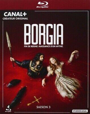 Borgia Season 3 ( John Doman, Isolda Dychauk) Box Blu-Ray New Blister Pack