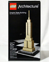 NEW LEGO ARCHITECTURE EMPIRE STATE BUILDING - 21002 - 77 PIECES