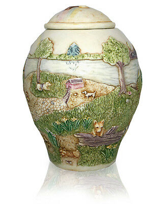 Harmony Ball Jardinia-Rainbow Bridge  pet urn - dog-NIB