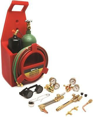 New Forney 1753 Victor Tote A Torch Oxy Acetylene Welding Kit Set 8912776