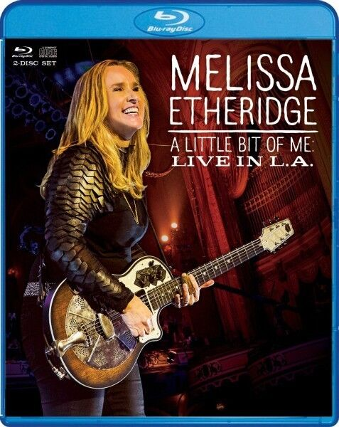 MELISSA ETHERIDGE - A LITTLE BIT OF ME: LIVE IN L.A 2 BLU-RAY NEU